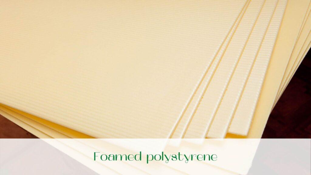 image-Foamed-polystyrene