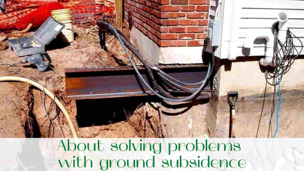 image-About-solving-problems-with-ground-subsidence