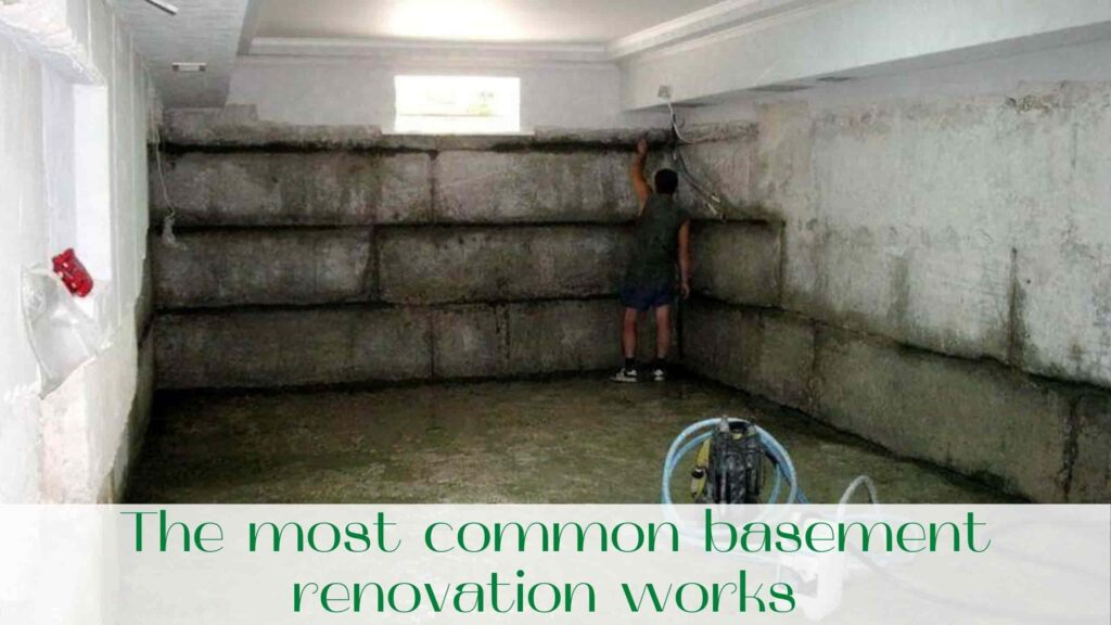 image-The-most-common-basement-renovation-works-with-your-own-hands